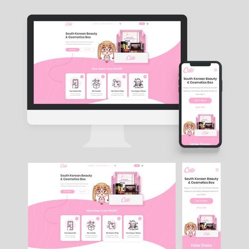 Cuty Website