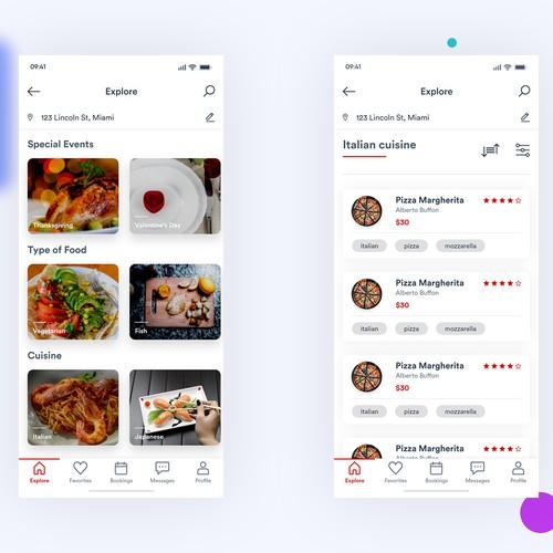 Chef service app