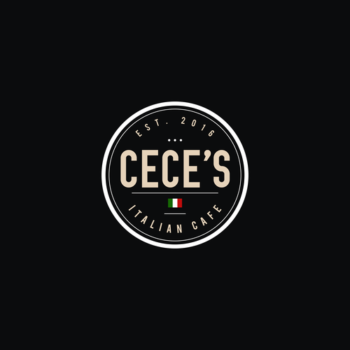 Italian Cafe Logo Design