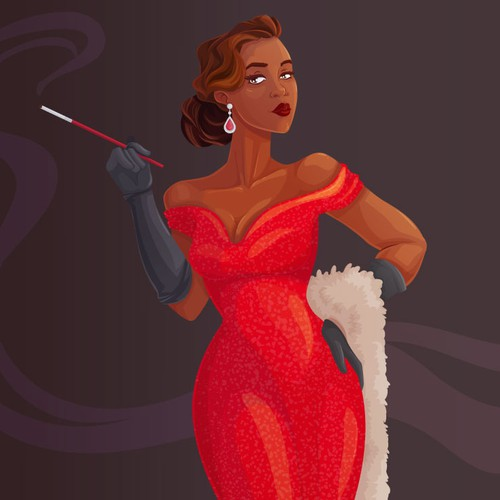 Retro Hollywood Glam