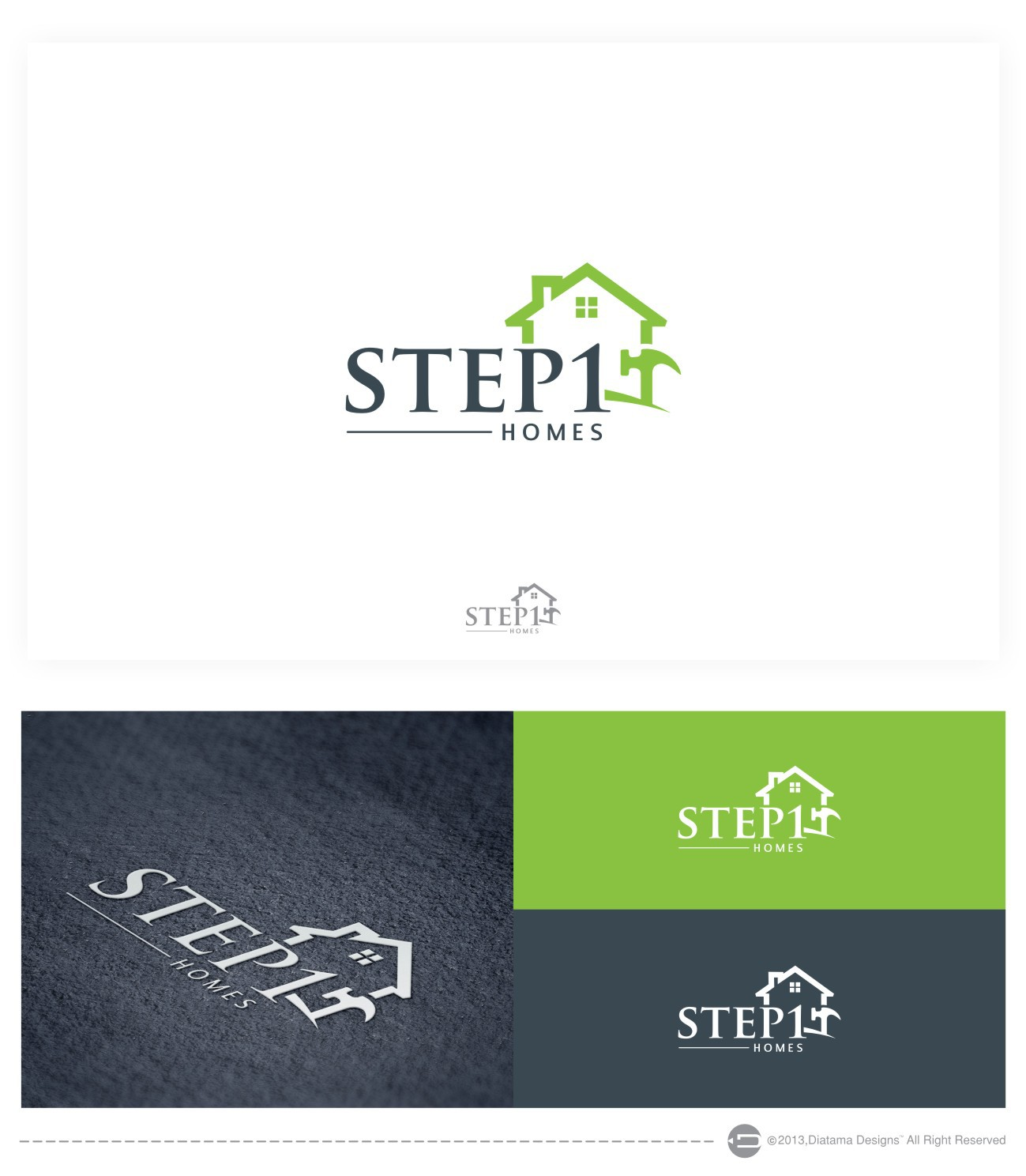 Step 1 Homes  needs a new logo