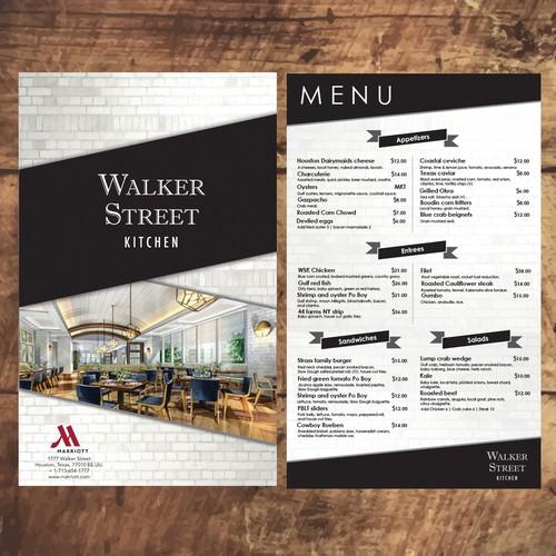 Menu Walker Street Kitchen