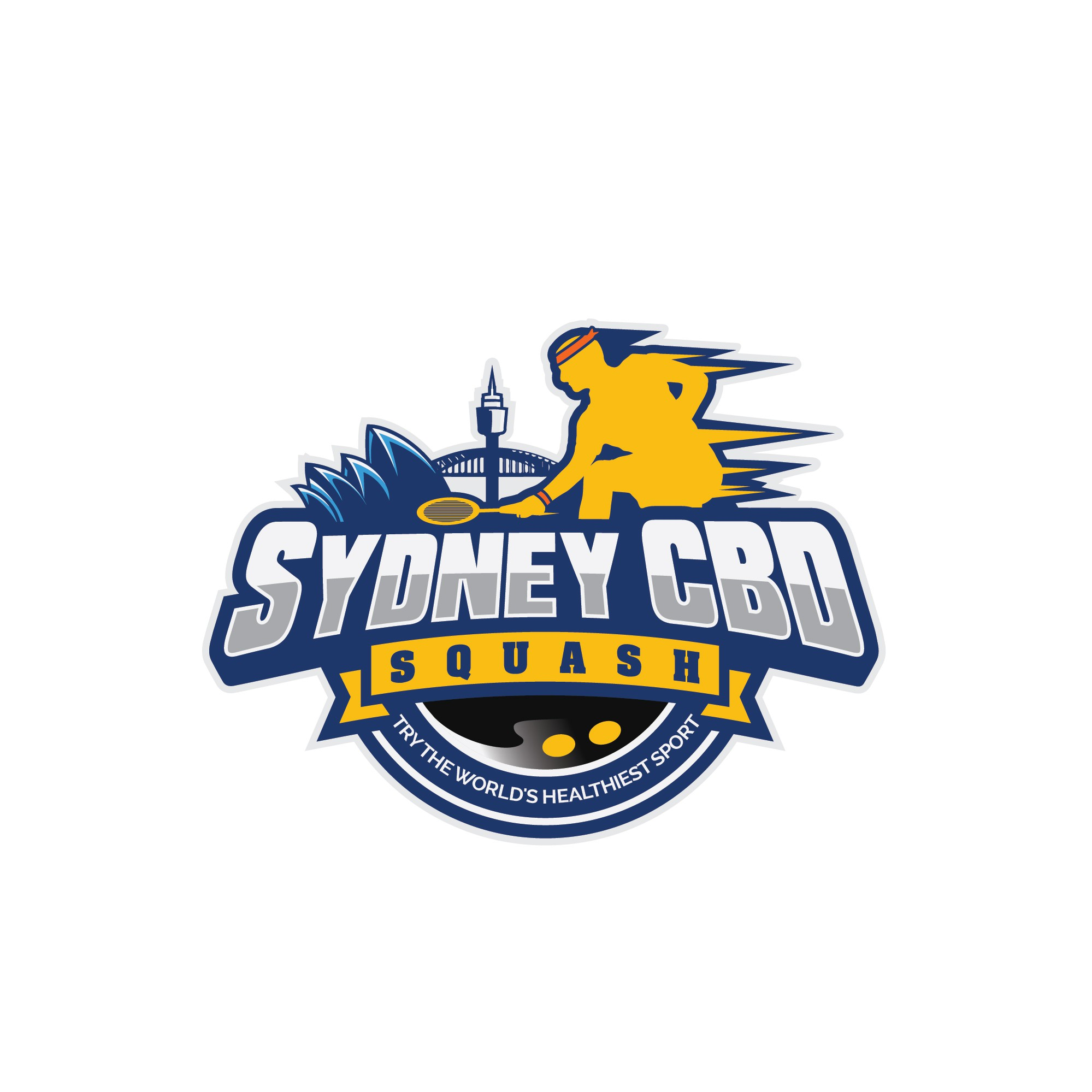 Sydney CBD Squash Club looking for a logo showing speed / athletism to attract new players to sport
