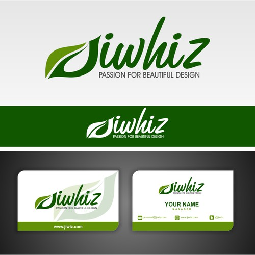 New logo and business card wanted for JIWHIZ