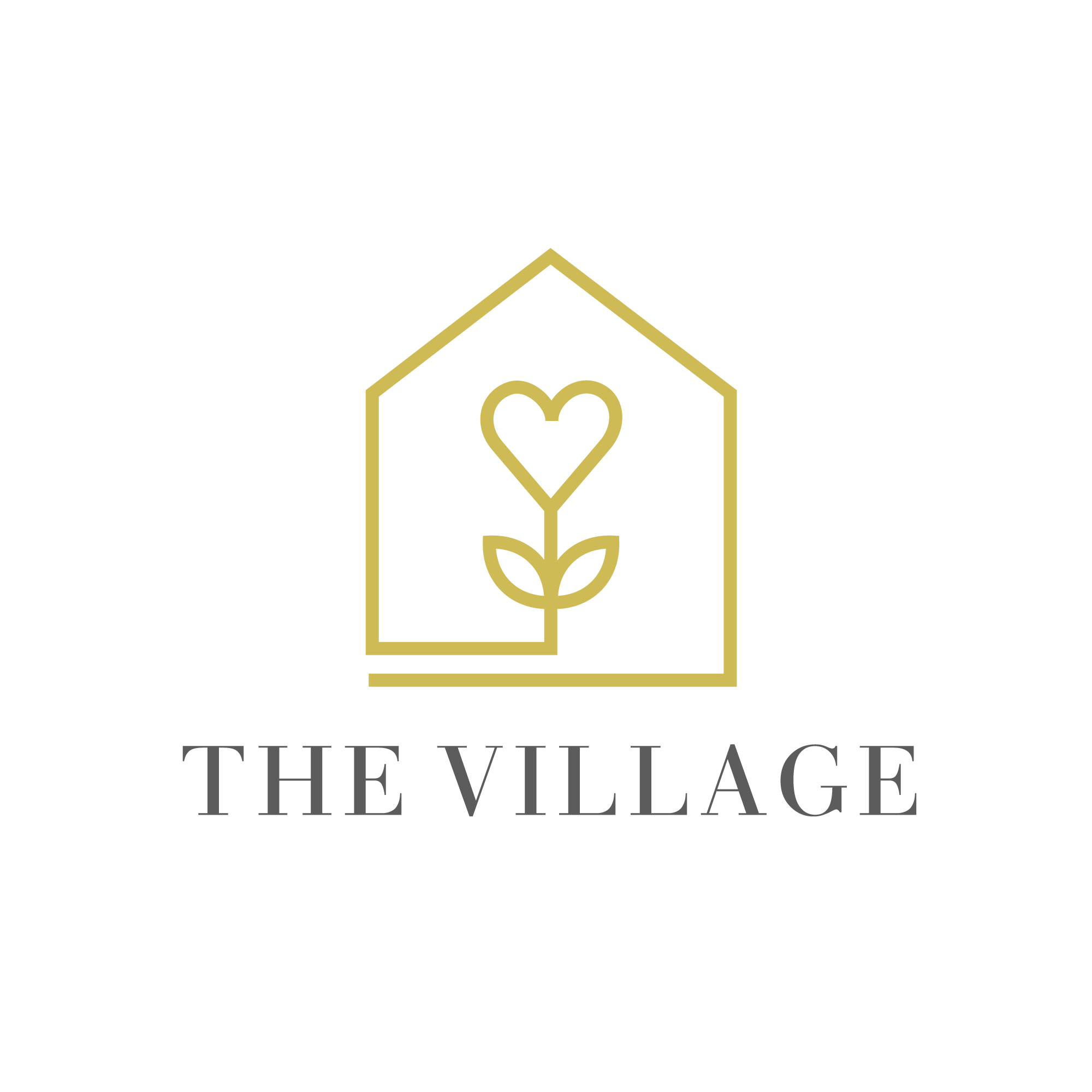 Design a Logo that recreates the feeling of the village for parents lonely in their parenting journe