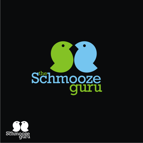 Create the next logo for The Schmooze Guru