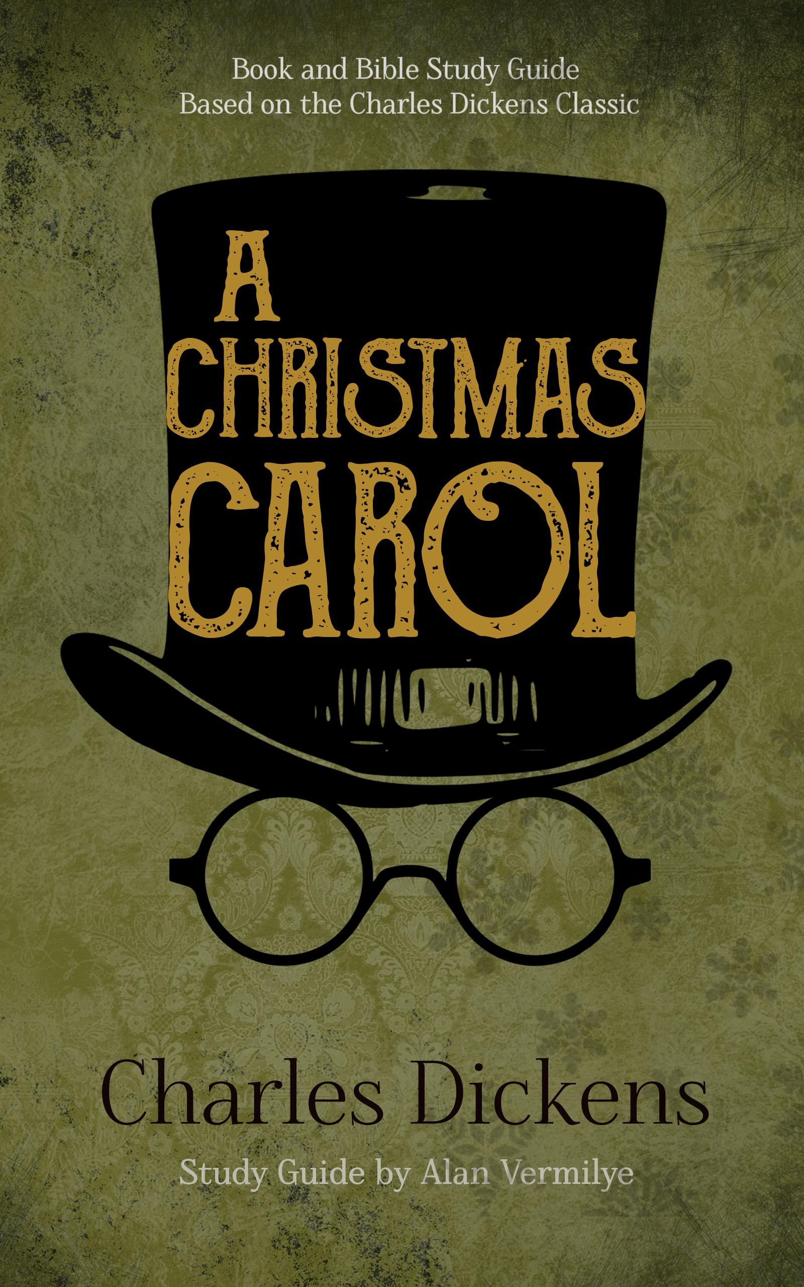 Design a book cover for A Christmas Carol with Ebenezer Scrooge