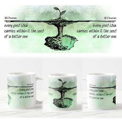 Haiku mug art 2