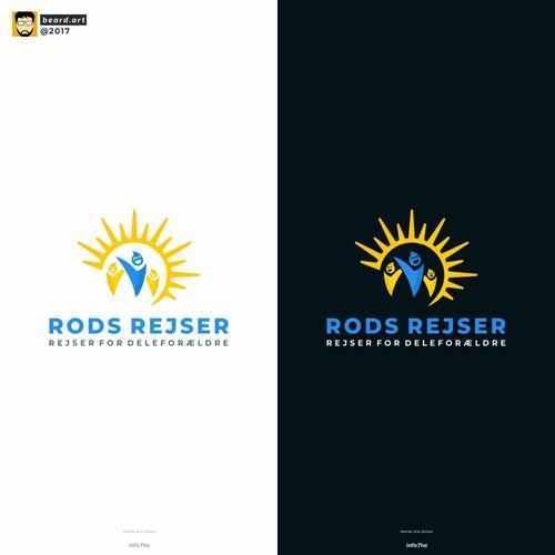 RODS REJSER logo