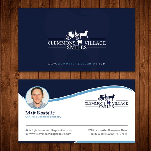 Dental Office needs updated business cards