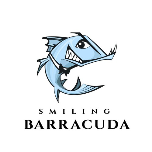 Logo concept for Smiling Barracuda