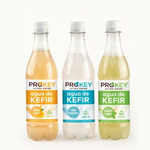 Prokey Agua de Kefir
