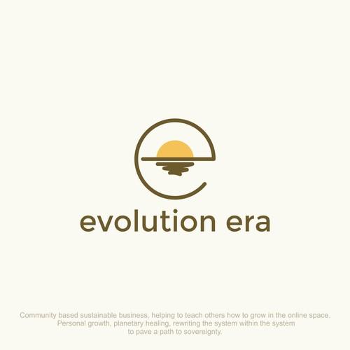 Simple & Clean logo for evolution era