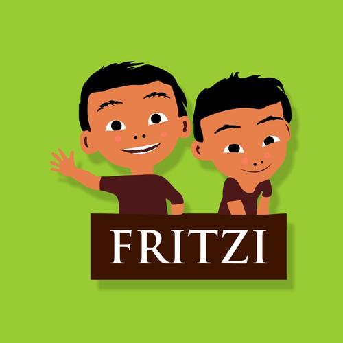 Fritzi: Karakter anak laki-laki berusia 11 tahun yang bahagia, aktif, penasaran dari merek kami