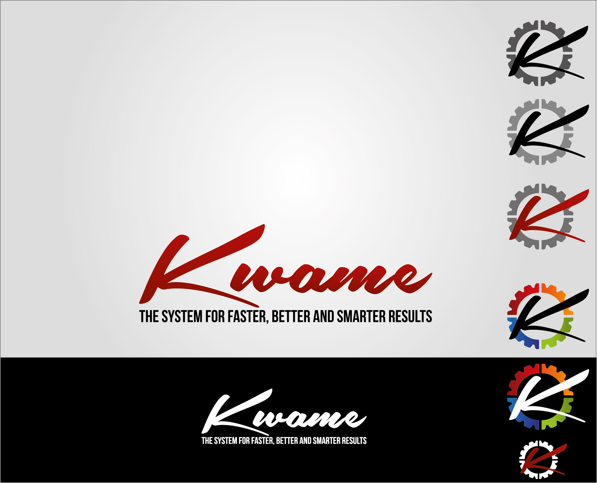 Help Kwame  with a new logo