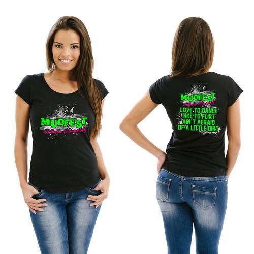 Mudfest women design