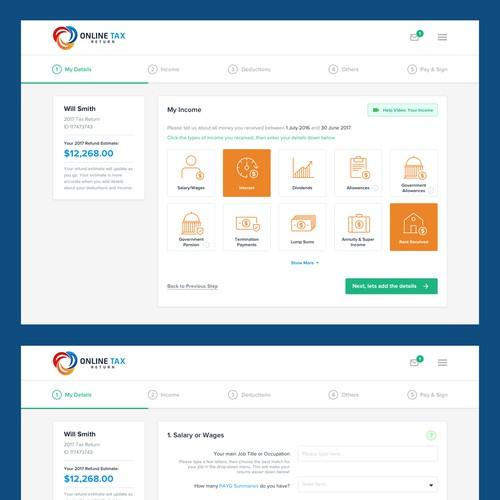 Online Tax Web App