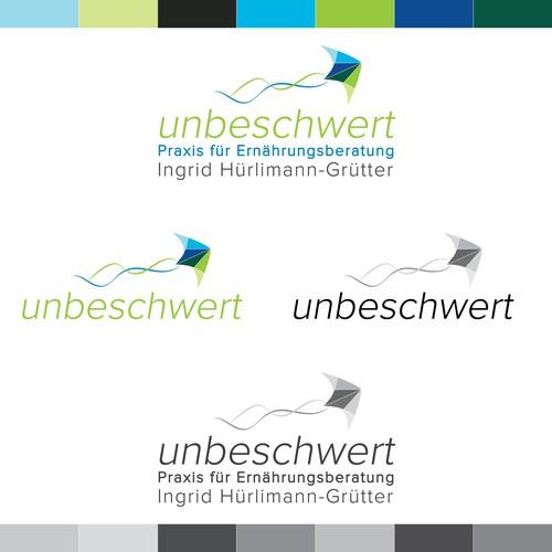 unbeschwert logo design