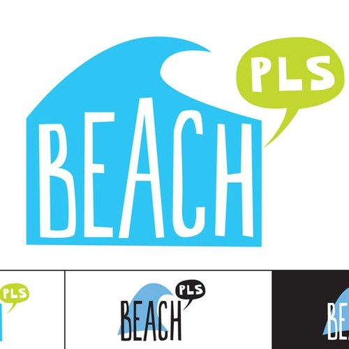 Create a logo for a new e commerce beach lifestyle shop