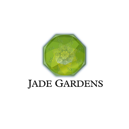 Create the next logo for Jade Gardens