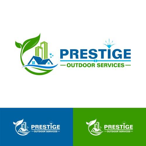 Environmental cleaning logo