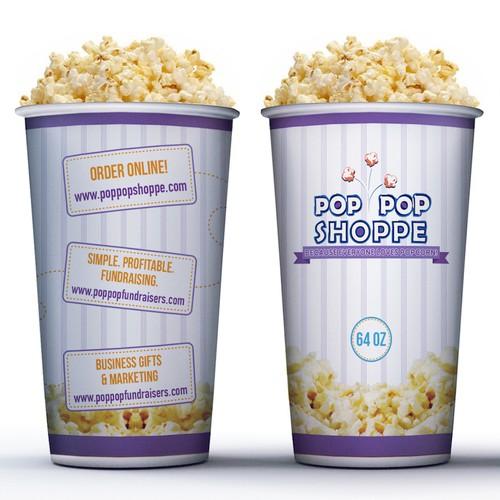 Popcorn Cup Design