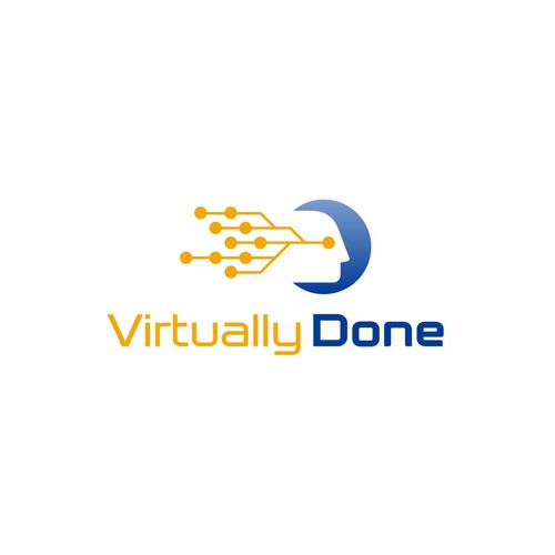 Logo for a new virtual software company