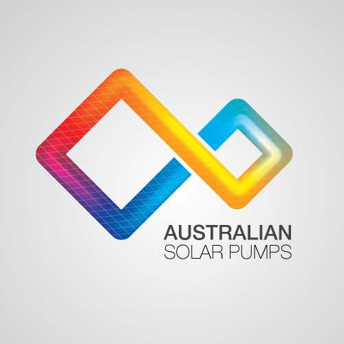 Logo for solar pump business