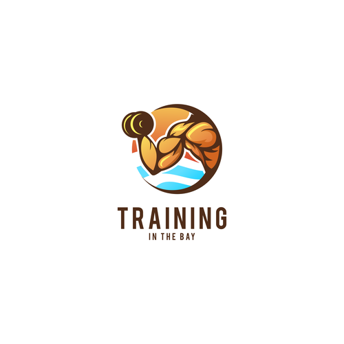 Logo concept for TRAINING IN THE BAY