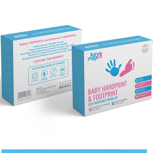 Product Packaging For a Babycare Company