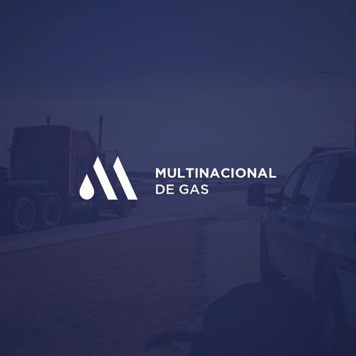Gas company logo design