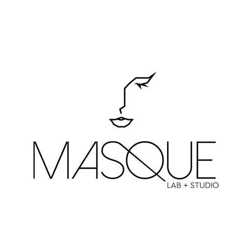 Masque logo design