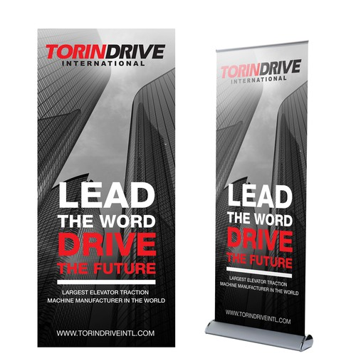 Torin Drive Trade show Banner
