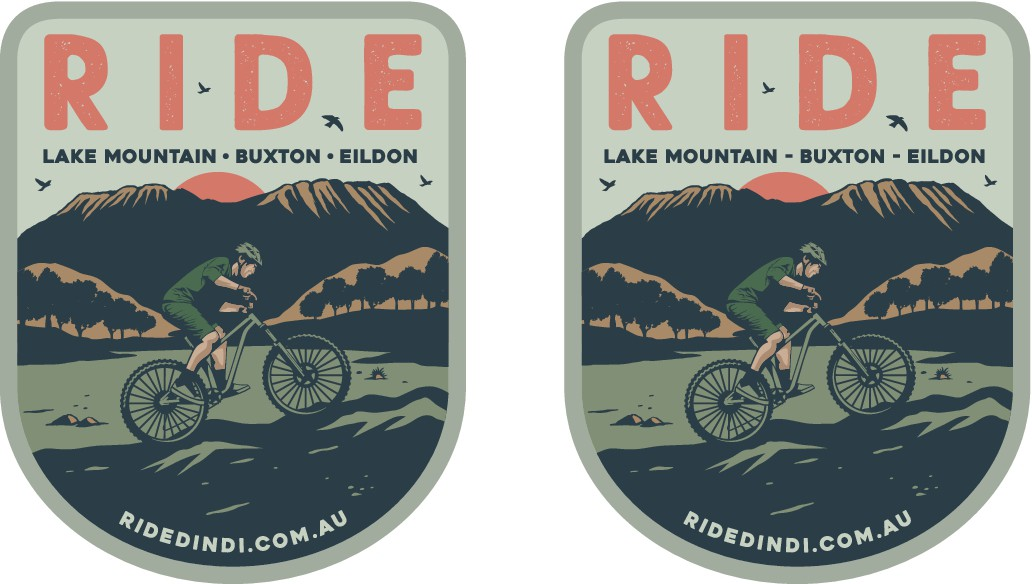 Design to promote the mountain bike parks in our area