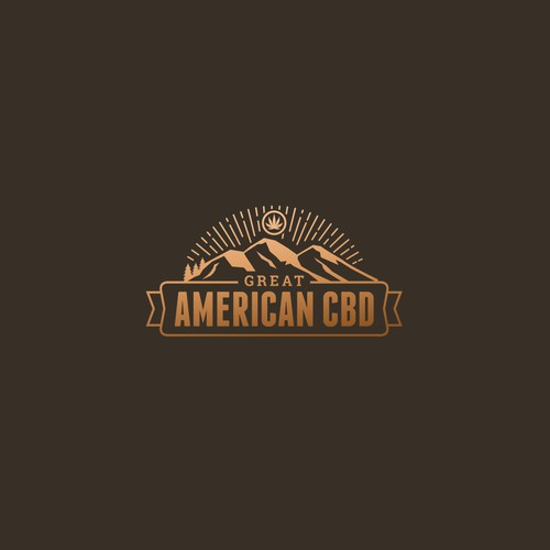 Great American CBD logo