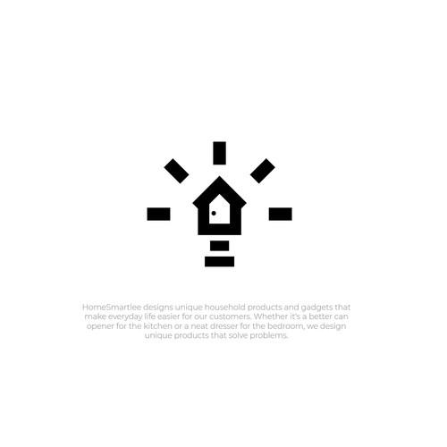Homesmartlee Logo Design