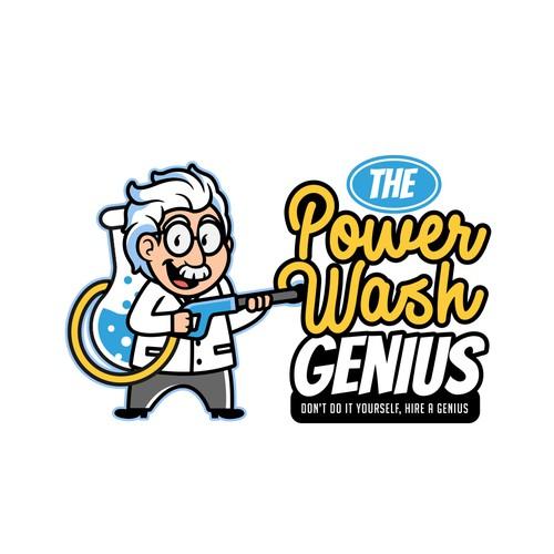 Logo for Powerwash