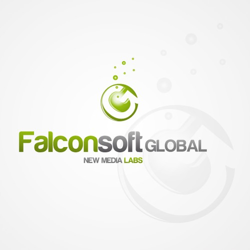 Falconsoft Global New Media Labs needs a new logo