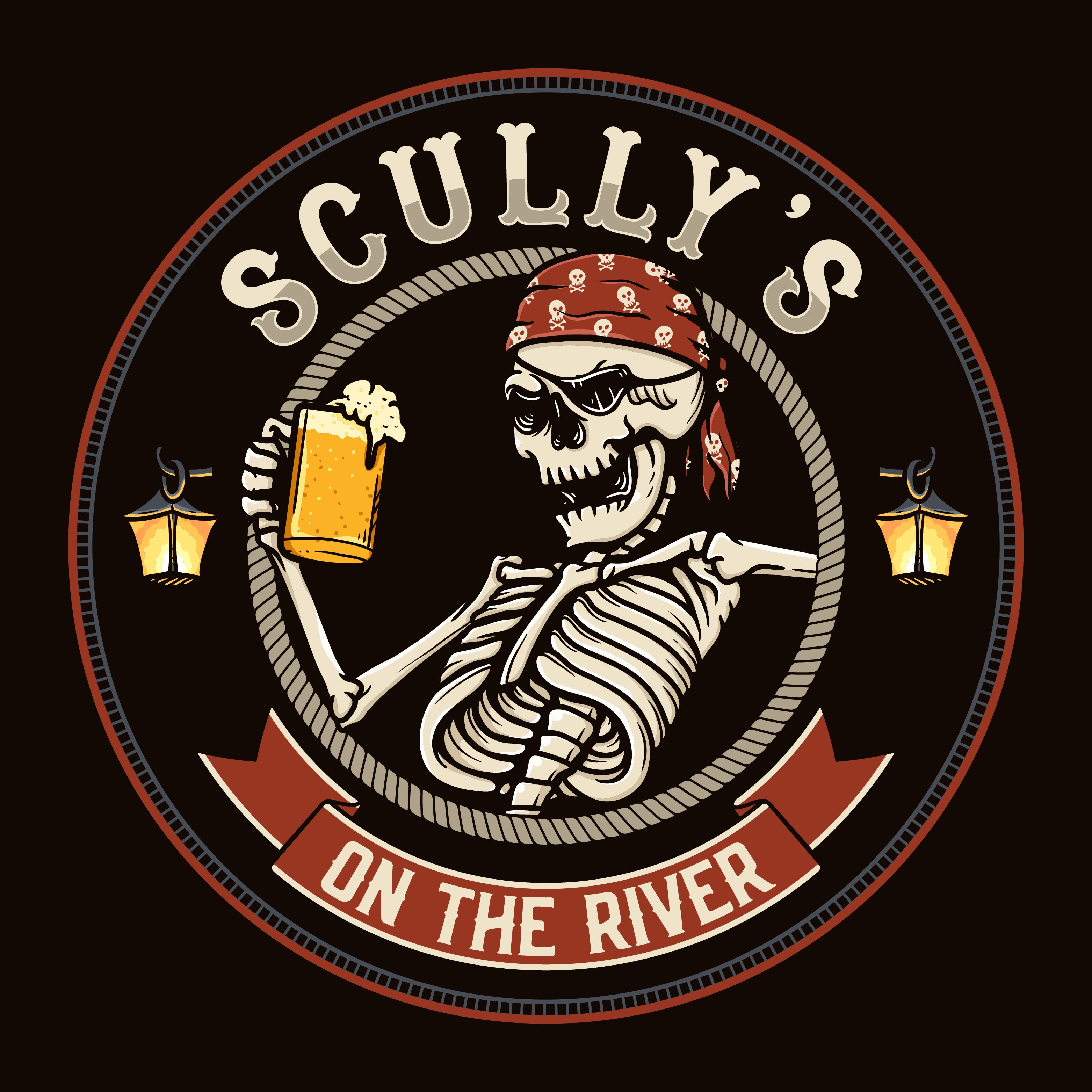 Design a logo for our bar Scully's