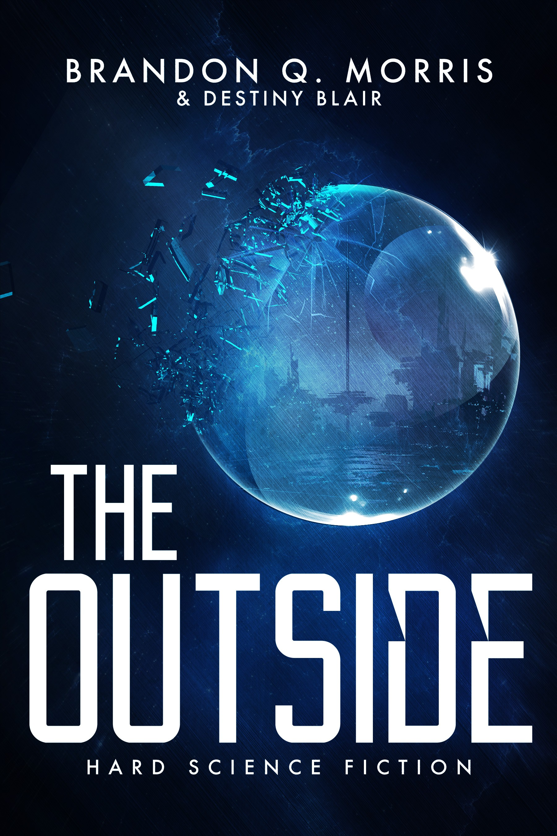 Cover for science fiction novel