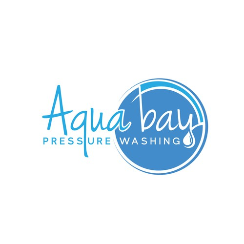 Logo for pressure washing houses and commercial property's