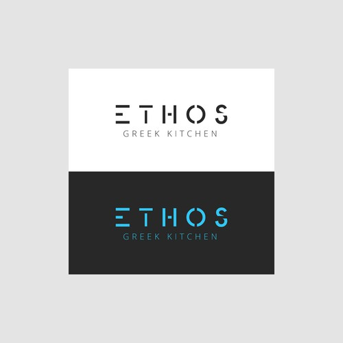 Logo design for Ethos Greek Kitchen
