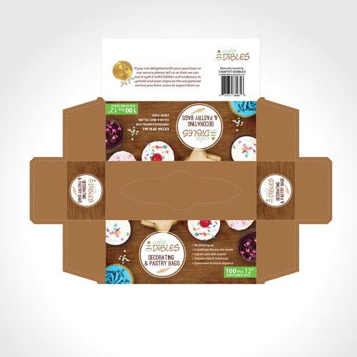 Pastry bags packaging