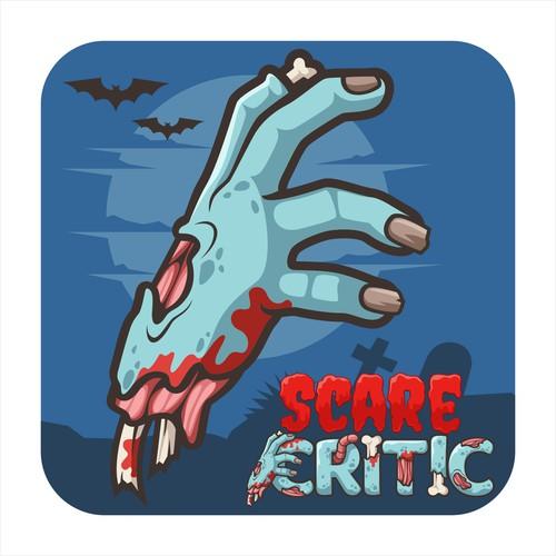 logo design SCARE CRITIC