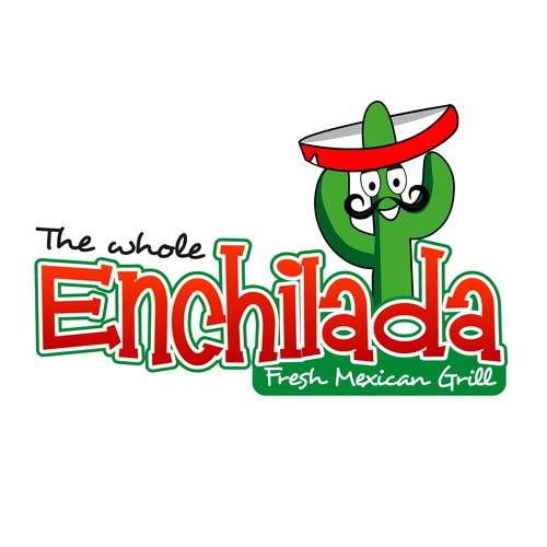 Help The Whole Enchilada Fresh Mexican Grill with a new logo