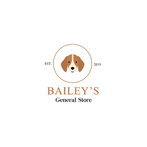 Classic yet modern logo concept for a General store