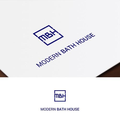 Modern Bath House Branding