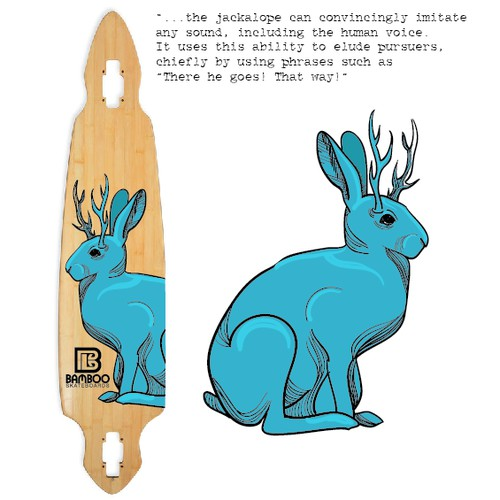 Long board illustration