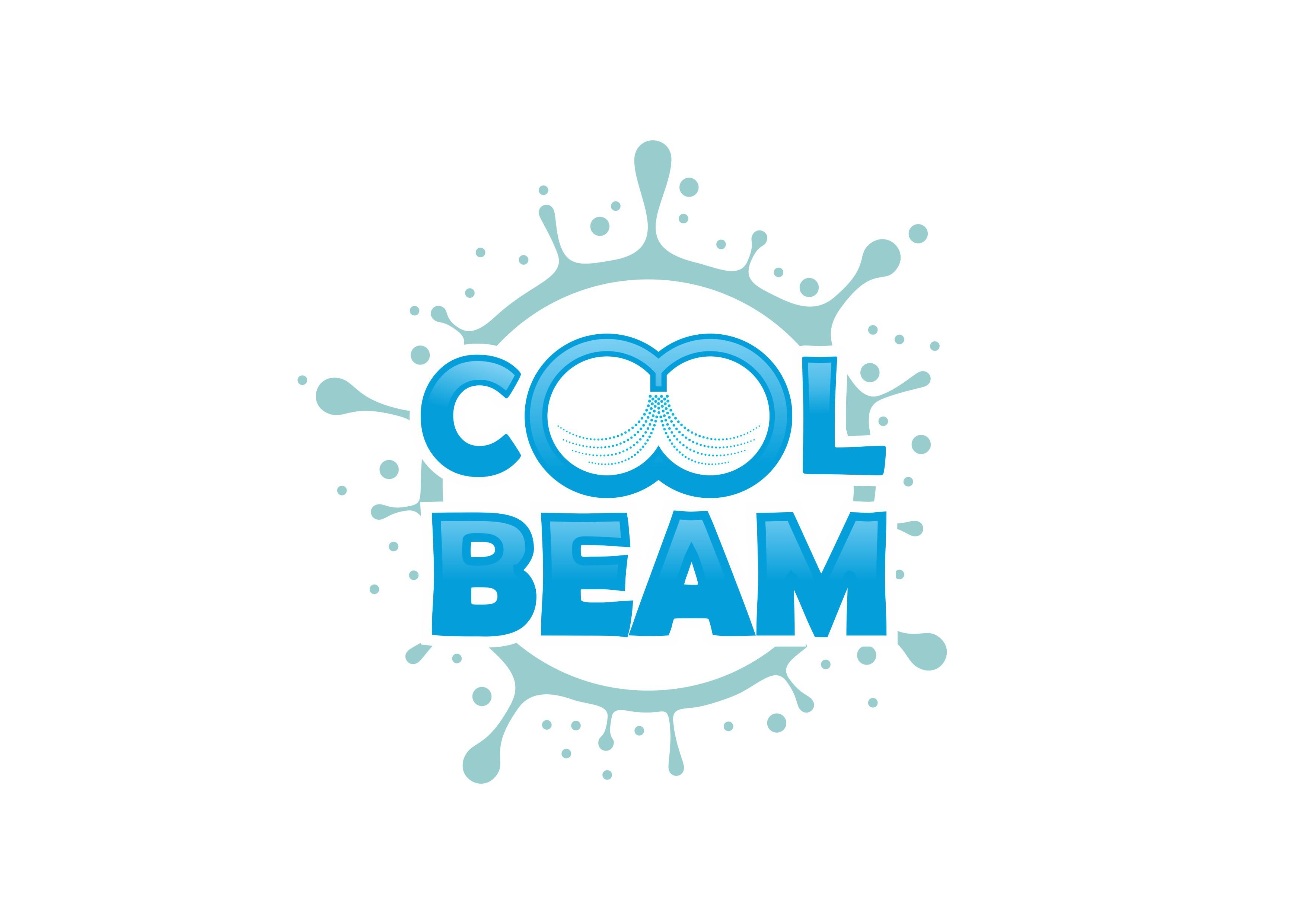 涼しくて優しいイメージのロゴを作成してくださいーミスト装置「クールビーム」ロゴ制作