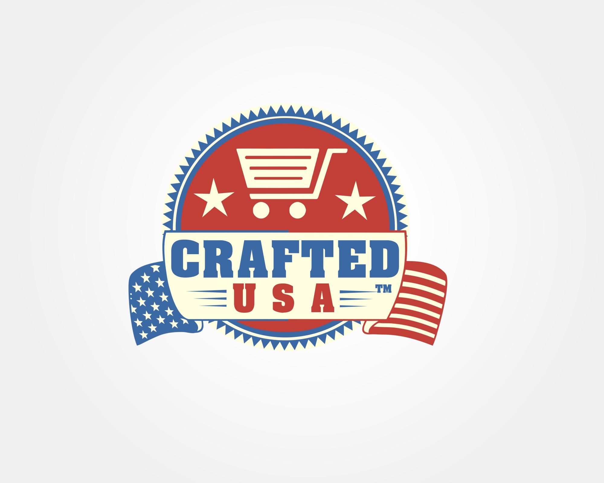 Crafted USA logo enhancement